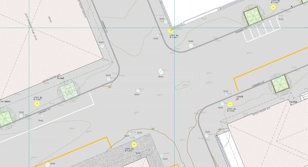 Plano-altimetria di dettaglio