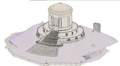 Modello wireframe 3D