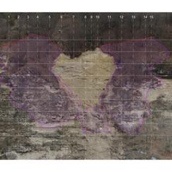 Ortofotopiano con evidenziazione zone instabili e posizione piani di sezioni