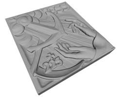 Modello 3D per stampa digitale
