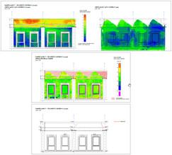 Analisi metrica verticalità e spessore paramento murario perimetrale