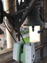 Rilievo laser scanner del castello campanario