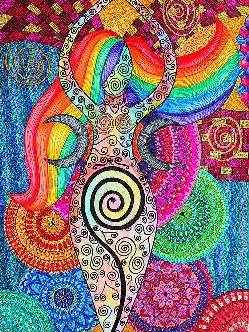 The spiral Goddess 2019