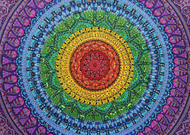 Soul filled rainbow mandala