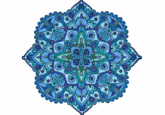 The Blues Mandala
