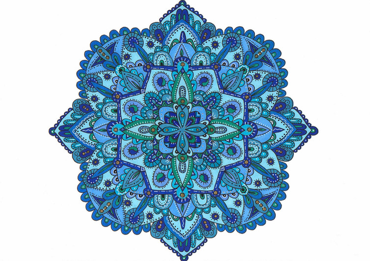 The Blues Mandala