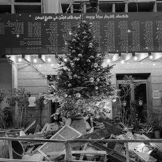 The police christmas tree