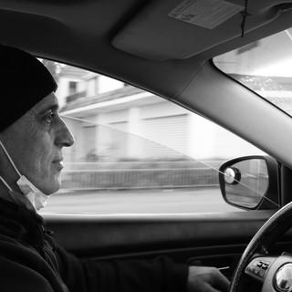 Maroun, fixer and taxi driver