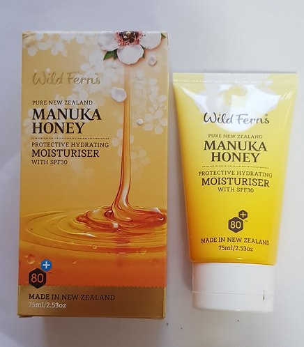 [Parrs] Wild Ferns Manuka Honey Moistruiser SPF30 와일드펀스 마누카허니 수분크림 75ml