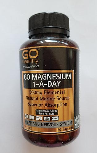 [Go Healthy] Go Magnesium 1-A-Day 60c 고헬씨 마그네슘 원어데이<30,000>