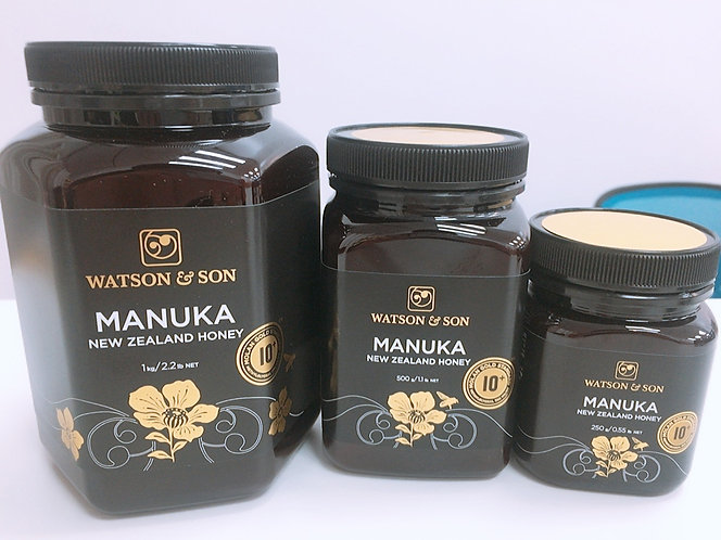 [Watson&Son] Manuka Honey MGS10+(250g/500g/1kg) <35,000/65,000/120,000>