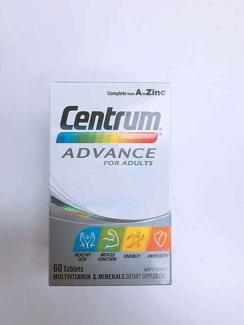 [Pfizer] Centrum for Advance for Adults 100t 센트룸 성인용 <30,000>