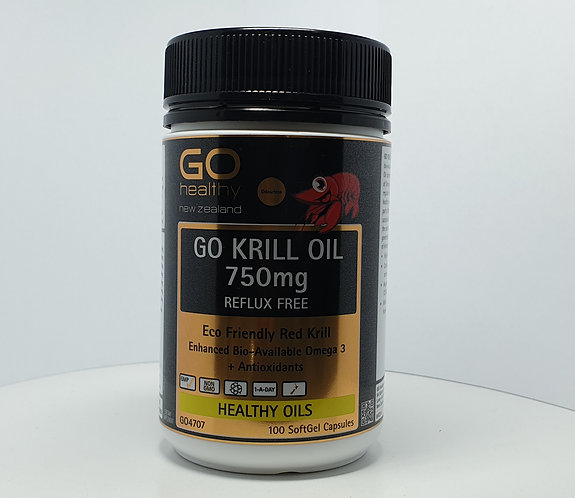 Go Healthy Krill Oil고헬씨 크릴오일 750mg 100c<50,000>