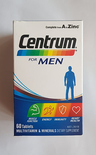 [Pfizer] Centrum for Men 남성용 센트룸 60t <24,000>