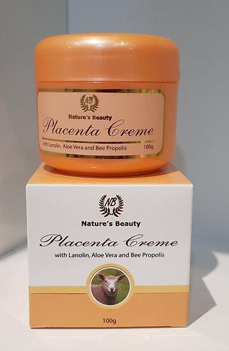 Nature's Beauty Placenta Creme 네이쳐스뷰티 태반 크림 100g