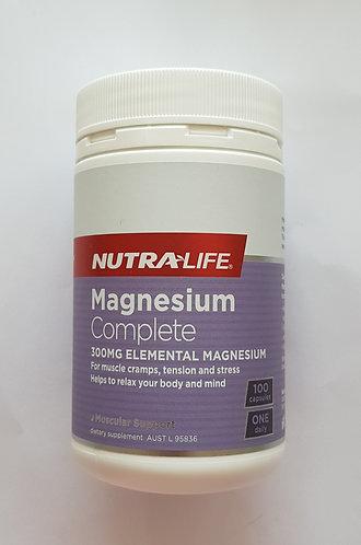 [Nutra LIfe] Magnesium Complete 100c 뉴트라라이프 마그네슘컴플리트<35,000>