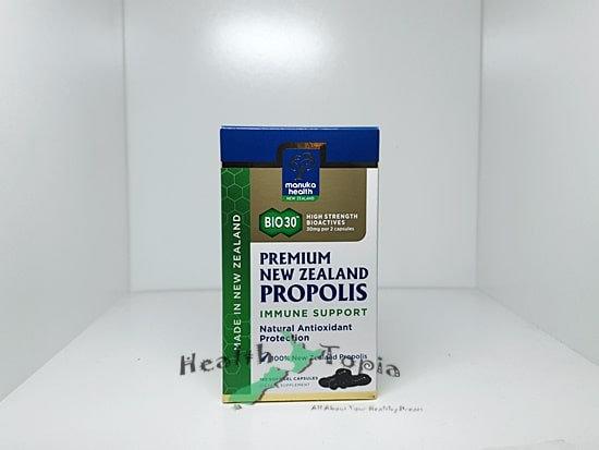 Manuka Health Propolis 프로폴리스 BIO30 180c extract 140mg Flavonoid 30mg <56,000>