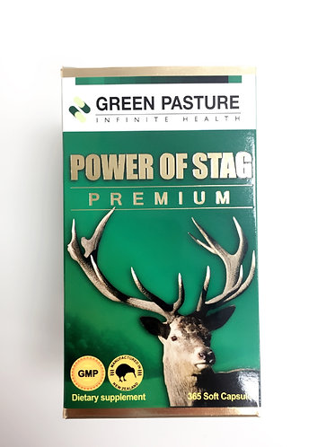 [Green Pasture] Power Of Stag Premium 파워오브스태이그 녹용 녹혈 (365c) <120,000>