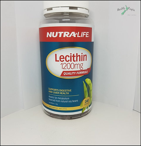 Nutra LIfe Lecithin 뉴트라라이프 레시틴 1200mg 240c <40,000>