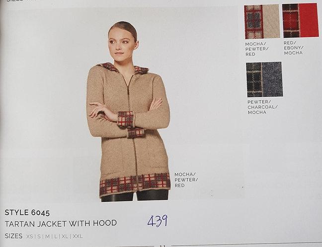 Style 6045 Tartan Jacket With Hood