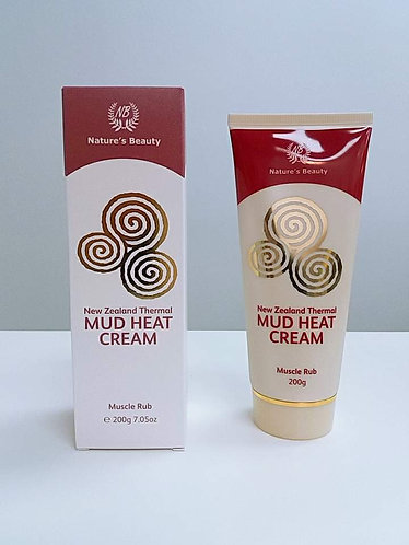 [Nature's Beauty] Thermal Mud Heat Cream 머드힛크림 (200g) <12000>