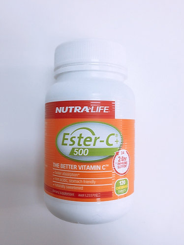 [Nutra-Life] Ester-C 500mg Chewable (120t)<32,000>