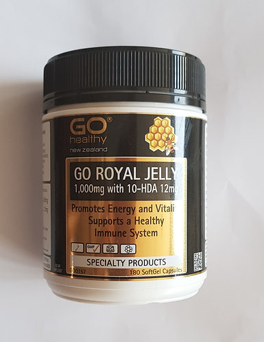 Go Healthy Royal Jelly 고헬시 로얄젤리 1000mg 180c <36,000>