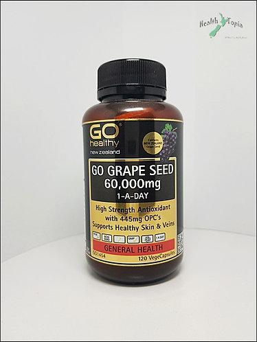 Go Healthy Grape Seed 고헬시 포도씨 60000mg 120c <36,000>