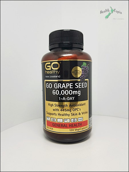Go Healthy Grape Seed 고헬시 포도씨 60000mg 120c <36,000>