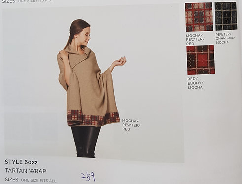 Style 6022 Tartan Wrap