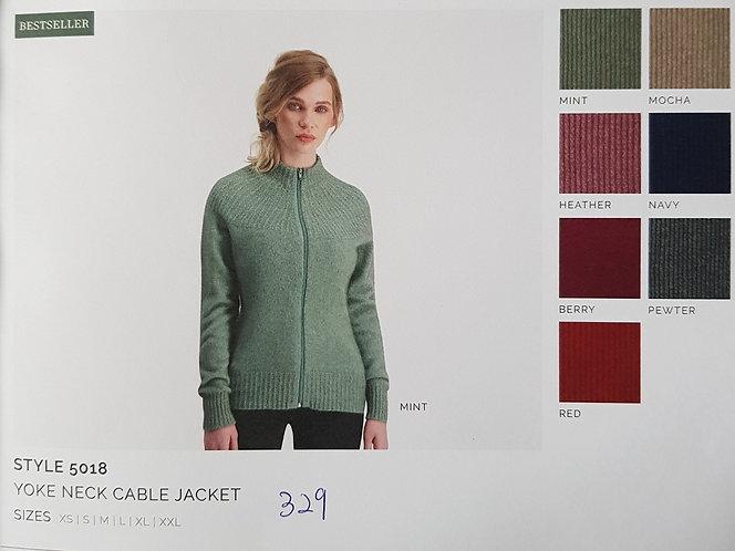 Style 5018 Yoke Neck Cable Jacket