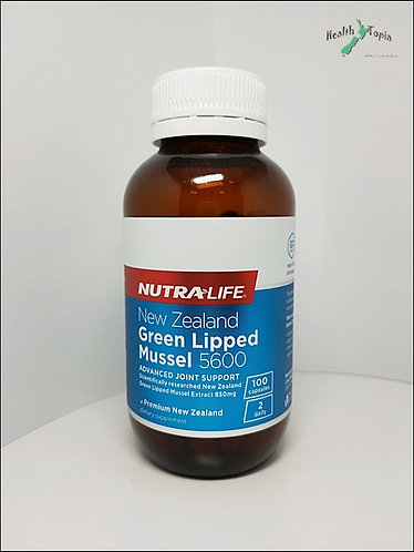[Nutra-Life] Green Lipped Mussel 5600mg 뉴트라라이프 초록입홍함 100c<24,000>