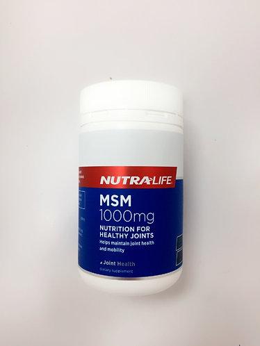 [Nutra-Life] MSM 뉴트라라이프 식이유황 120c <30,000>