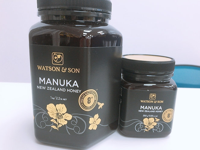 [Watson&Son] Manuka Honey MGS 8+(1kg/250g)<90,000/27,000>