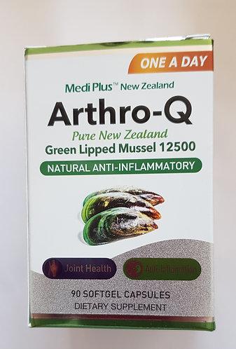 Medi Plus Green LIpped Mussel 12500 메디플러스 초록홍합 12500 90 softgel capsules<60,000>