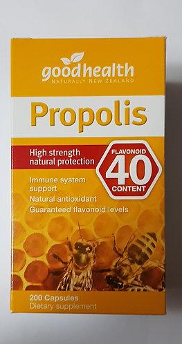 Good Health Propolis Flavonoid 40 extract 625mg 굿헬스 프로폴리스 플라보노이드 40 200c <55000>
