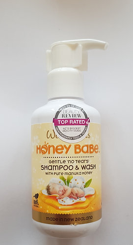 [Parrs] Wild Ferns Honey Babe Shampoo & Wash 와일드펀스 허니베이비 샴푸&워시 140ml