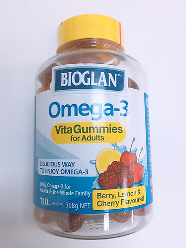 [Bioglan] Omega-3 Vita Gummies for Adults (110g)