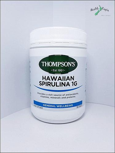 Thompson's Spirulina 10000mg 톰슨 하와이안 스피루니나 300t <56,000>