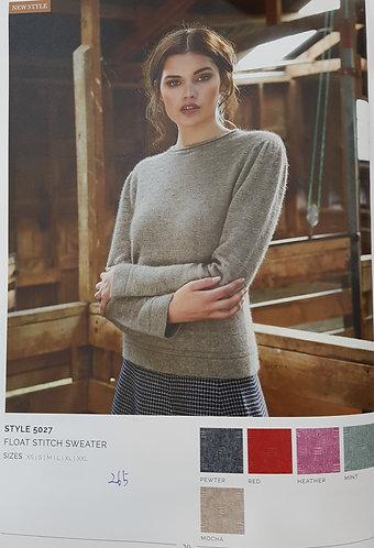 Style 5027 Float Stitch Sweater