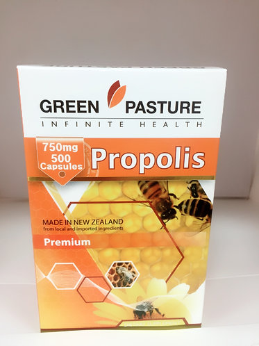 [Green Pasture] Propolis Premium 그린파스쳐 프로폴리스 750mg 500c <53,000>