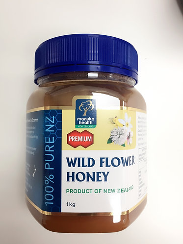 [Manuka Health] Wild Flower Honey(1kg) - 품절