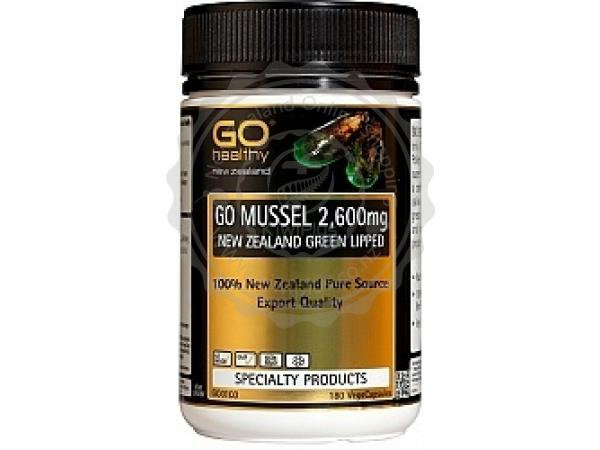 [Go Healthy] Go Mussel 2600mg 180vc<27000>