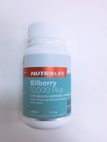 [Nutra-Life] Bilberry 10,000+ 뉴트라라이프 빌베리 30c<30,000>