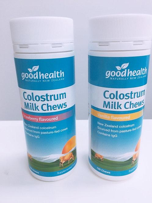 [Good health] Colostrum Milk Chews 150t 어린이 초유 바닐라,딸기맛<25,000>