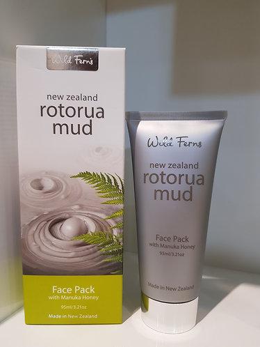 Wild Ferns Rotorua Mud Face Pack 와일드펀스 로토루아머드 이스 팩 95ml