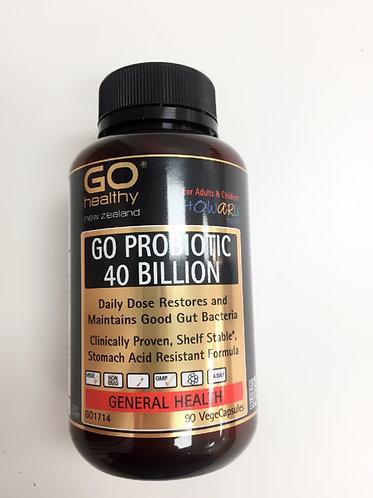 [Go healthy] Probiotic 40 Billion 유산균 400억 (90정) <45,000>