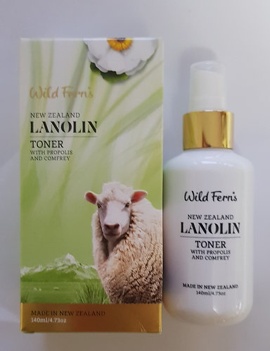 [Parrs] Wild Ferns Lanolin Toner 와일드펀스 라놀린 토너 140ml