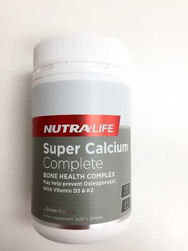 [Nutra Life] Super Calcium Complete (120c)<25,000>