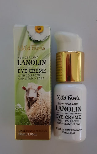 [Parrs] Wild Ferns Lanolin Eye Creme 와일드펀스 라놀린 아이크림 30ml